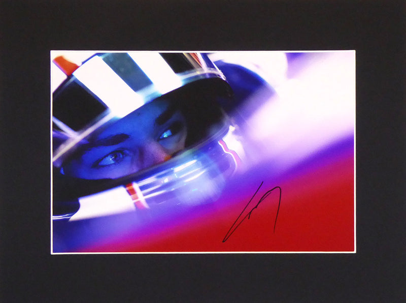 Pierre Gasly Signed Mount Display
