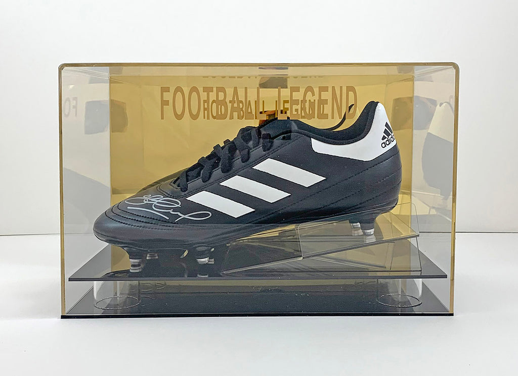 Steven Gerrard Signed Boot w/Display Case