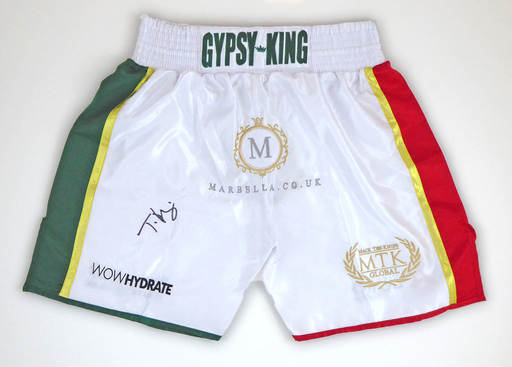 Tyson Fury Signed Mexico Short