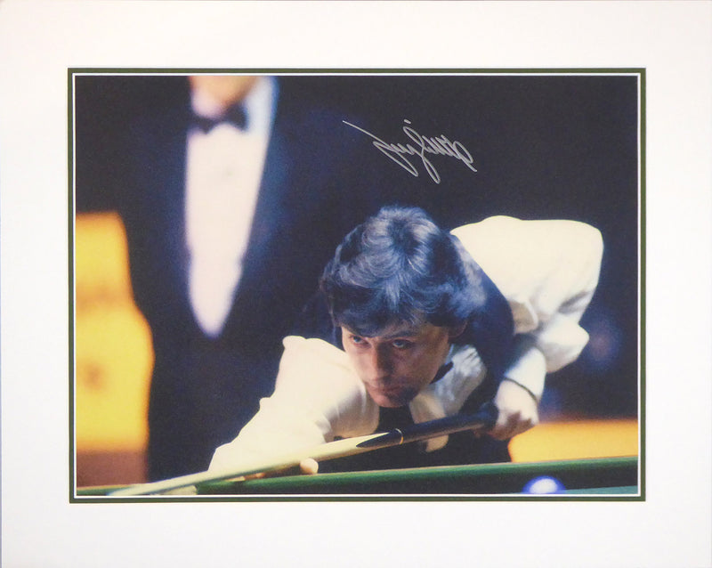 Jimmy White Signed Mount Display