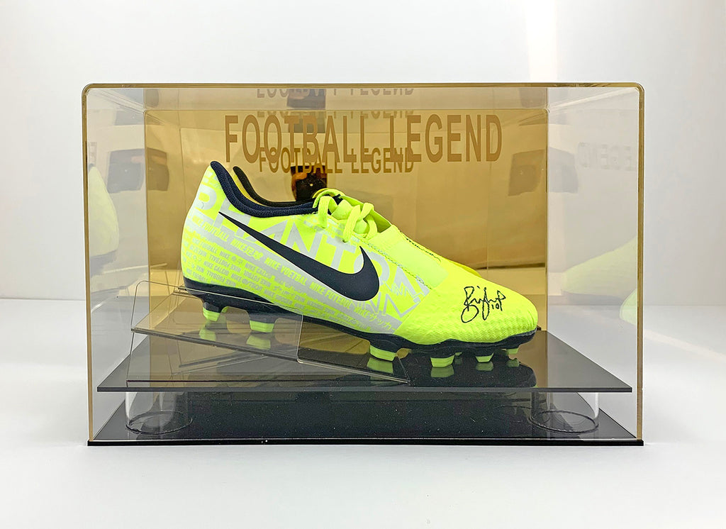Billy Sharp Signed Boot w/ Display Case