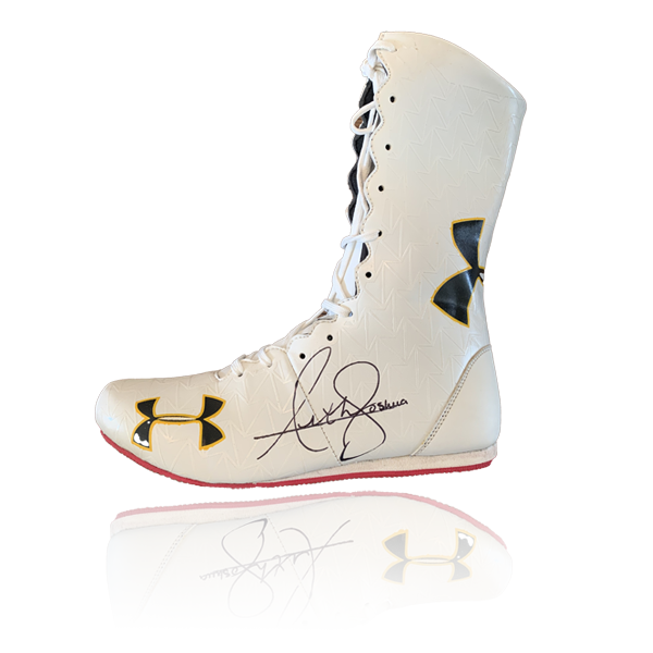 Anthony Joshua Signed Boot