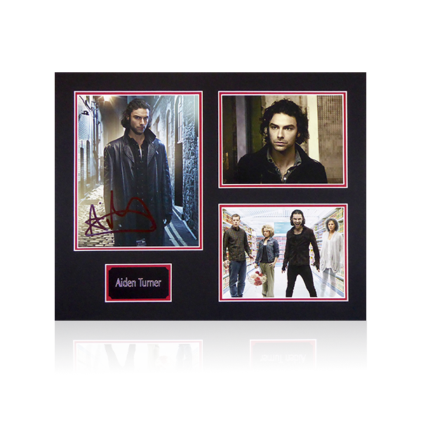 Aiden Turner Signed Mount Display