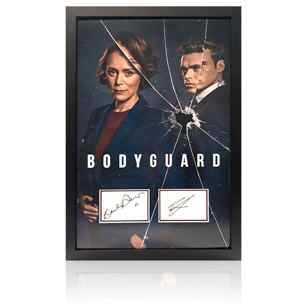Bodyguard - Richard Madden / Keeley Hawes Signed Framed Display