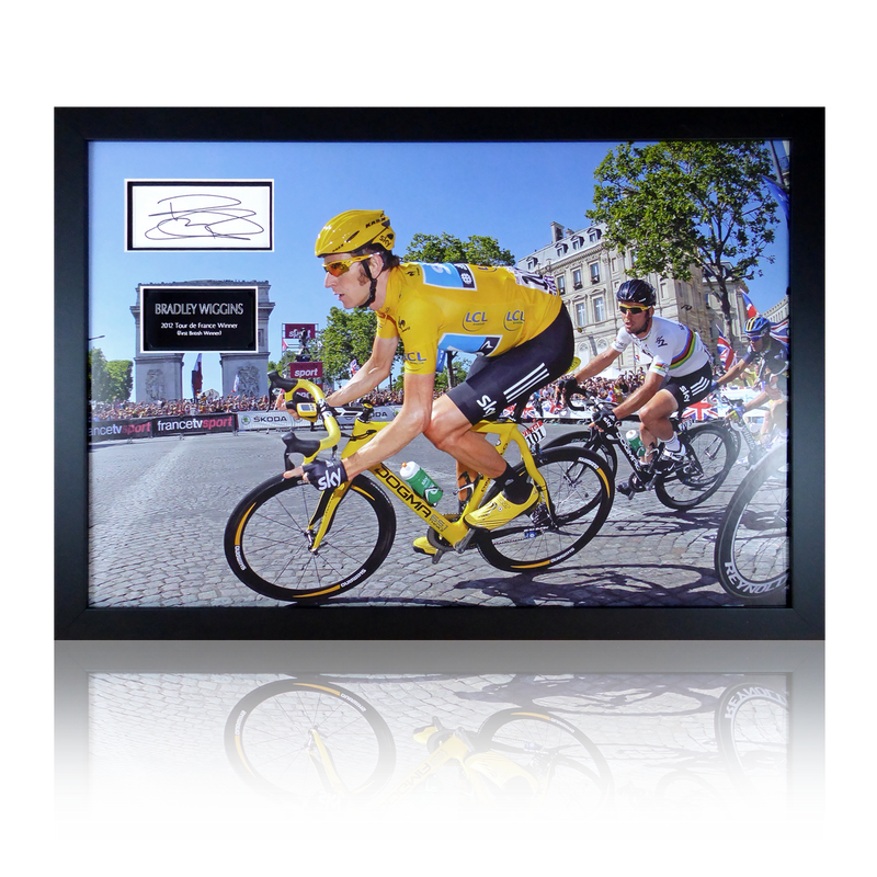 Bradley Wiggins Signed Display
