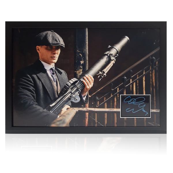 Cillian Murphy Signed Peaky Blinders Display