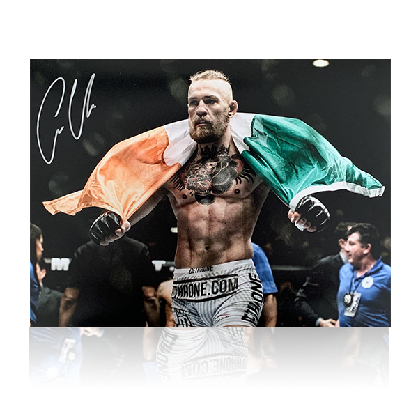 Conor McGregor Signed 16x12 Image