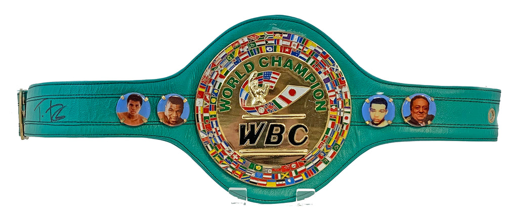 Tyson Fury Signed WBC Belt