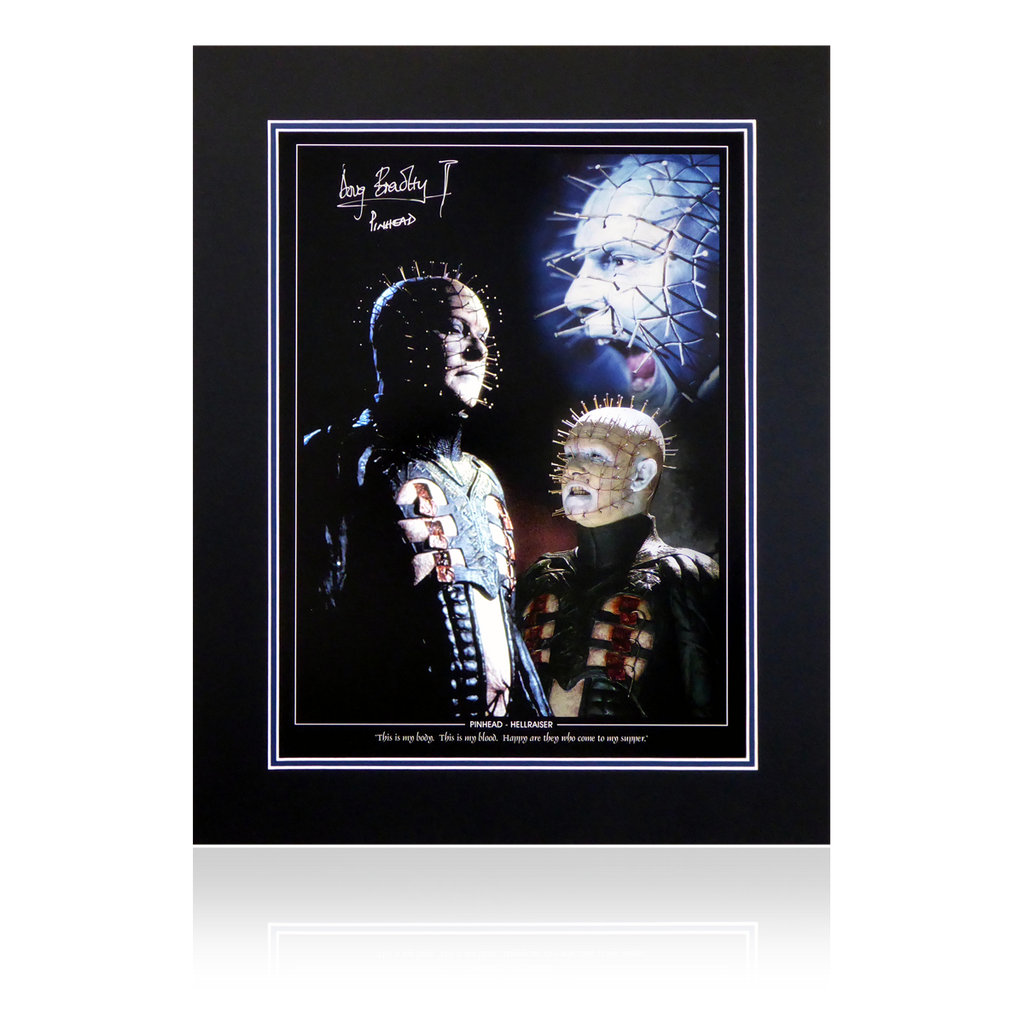 Doug Bradley Signed Pin Head Display V2