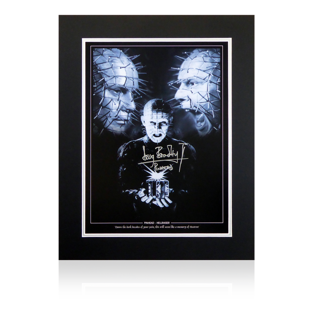 Doug Bradley Signed Pin Head Display V3