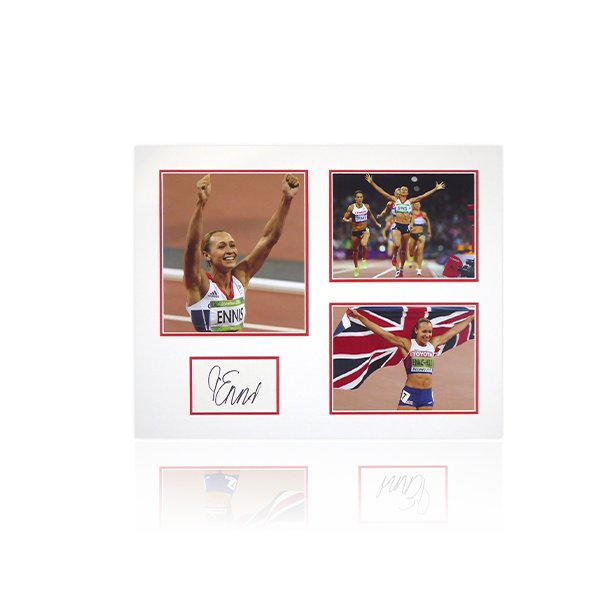 Jessica Ennis Hill Signed Mount Display