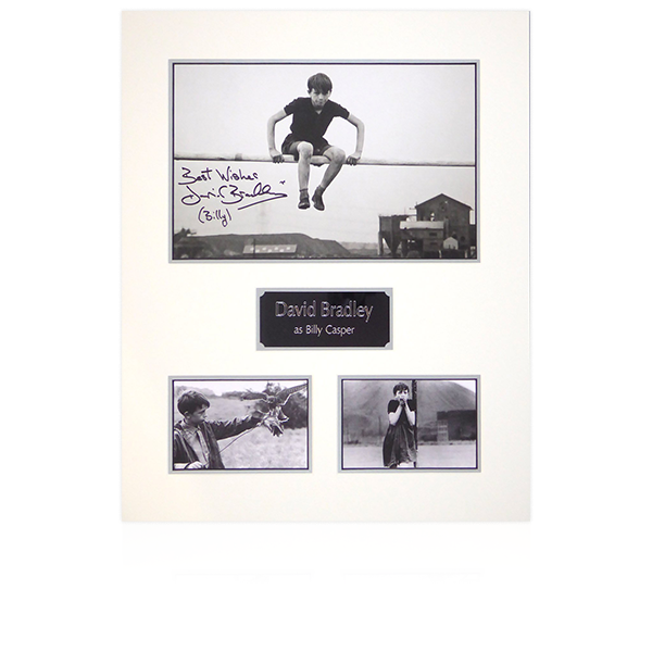 Kes Signed Mount Display (Crossbar)