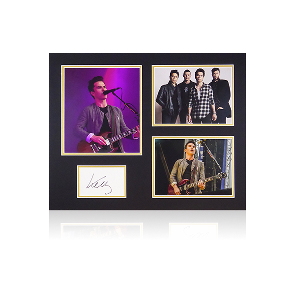 Kelly Jones (Stereophonics) Signed Mount Display