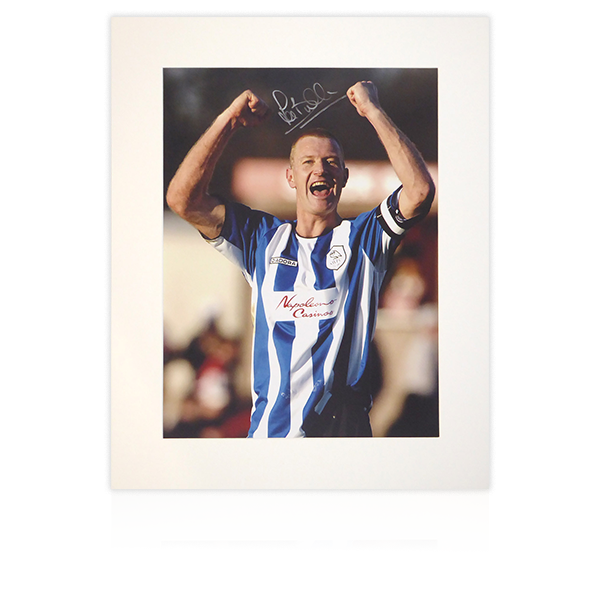Lee Bullen (Sheffield Wednesday) Signed Mount Display