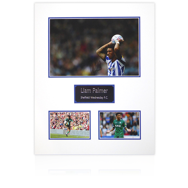 Liam Palmer SWFC Signed Mount Display