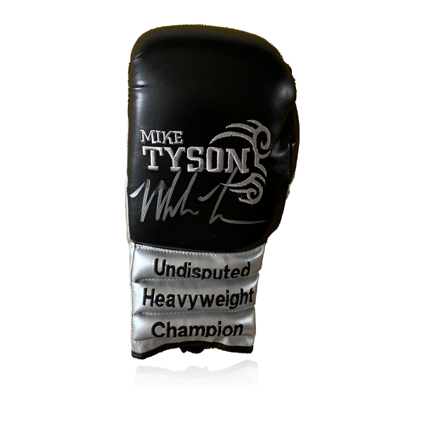 Mike Tyson Signed Glove (Black)