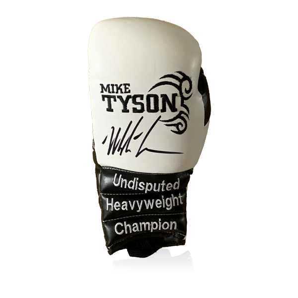Mike Tyson Signed Glove (White)