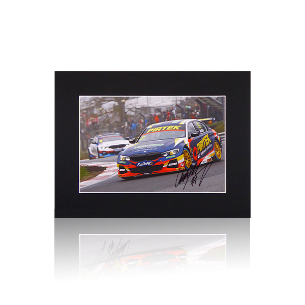 Andrew Jordan BMW BTCC Signed Mount Display