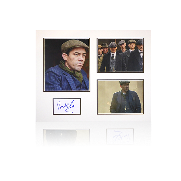 Peaky Blinders - Packy Lee (Johnny Dogs) Signed Mount Display