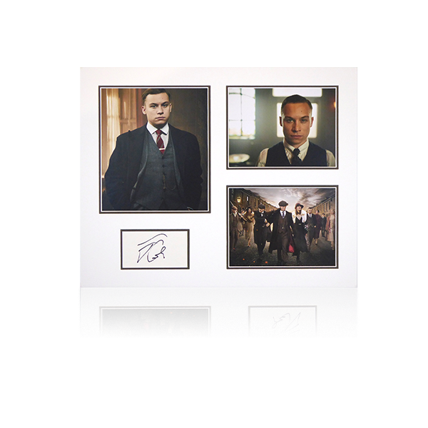 Peaky Blinders - Finn Cole (Michael Gray) Signed Mount Display