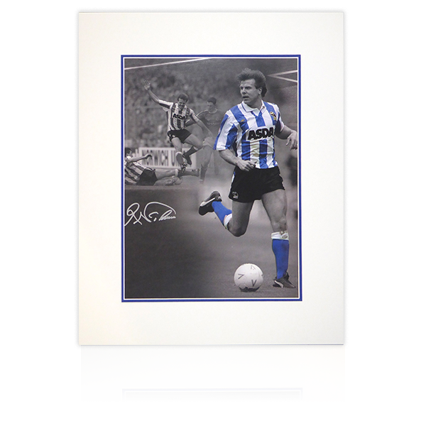 Roland Nilsson (Sheffield Wednesday) Signed Mount Display