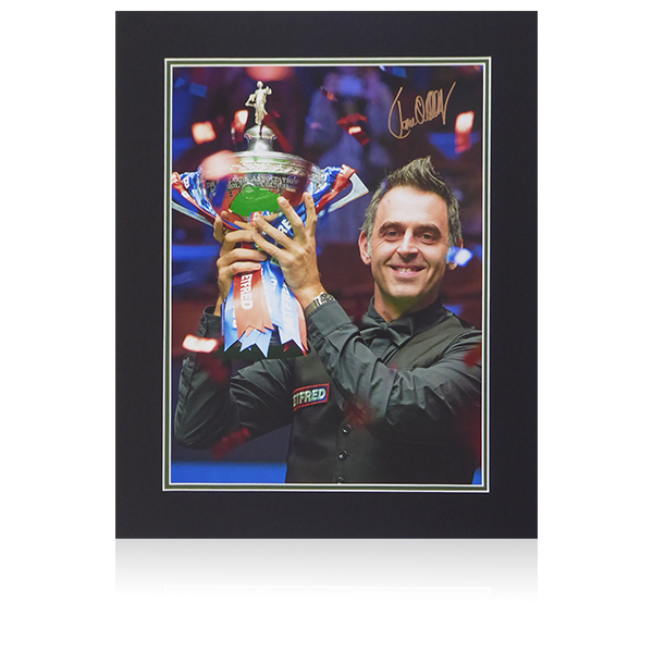 Ronnie O'Sullivan Signed World Champion Display