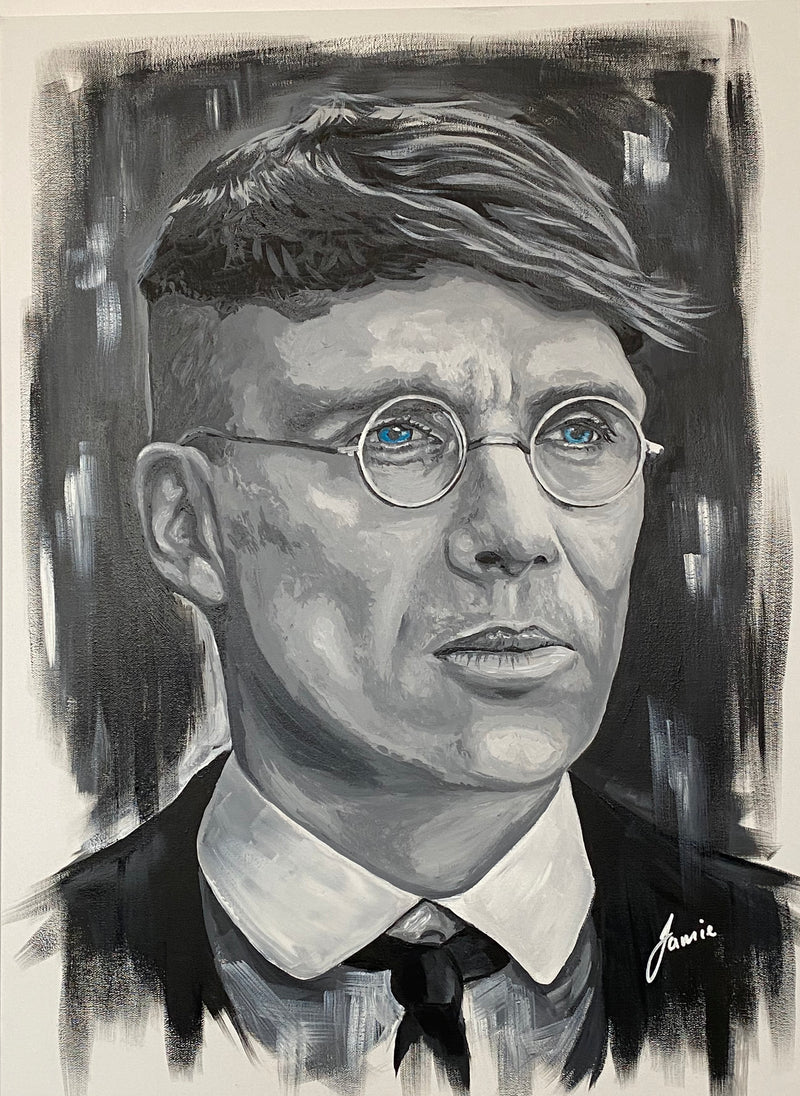 Tommy Shelby Original Art Work by Jamie Wilkinson