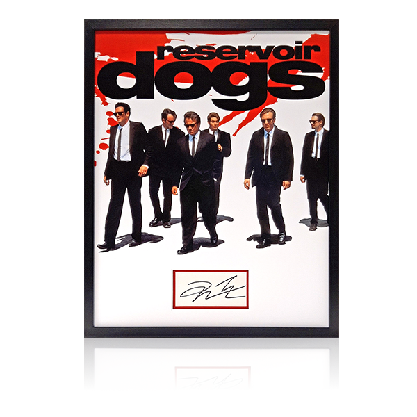 Quentin Tarantino Reservoir Dogs Signed Framed Display