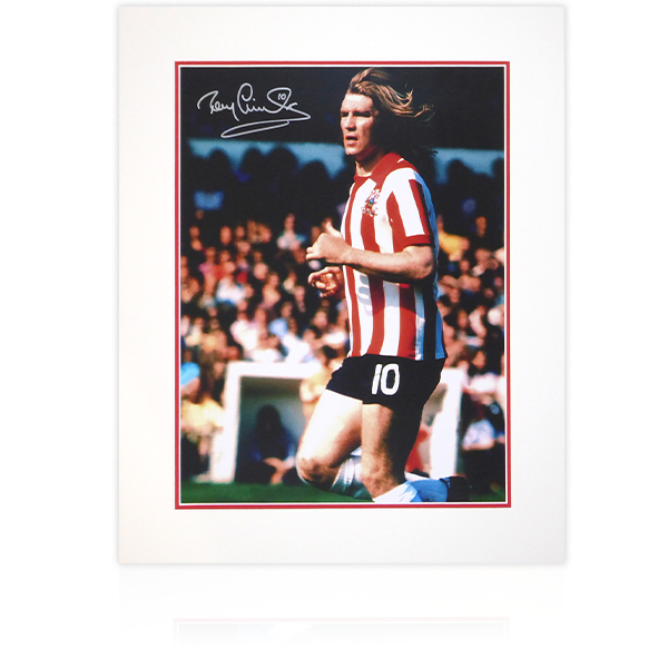 Tony Currie SUFC Signed Mount