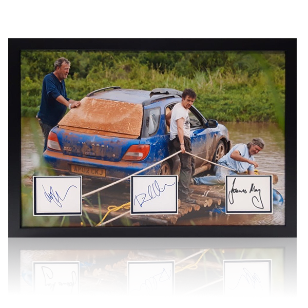 Top Gear Signed Display