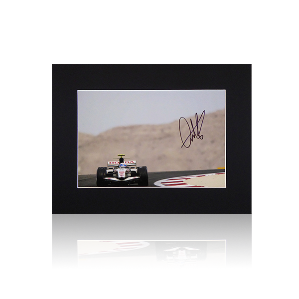 Anthony Davidson BAR Honda SIgned Mount Display