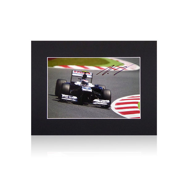 Valtteri Bottas Williams PDVSA Signed Mount Display