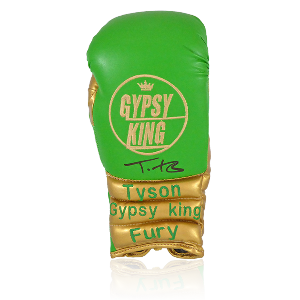 Tyson Fury Signed Glove