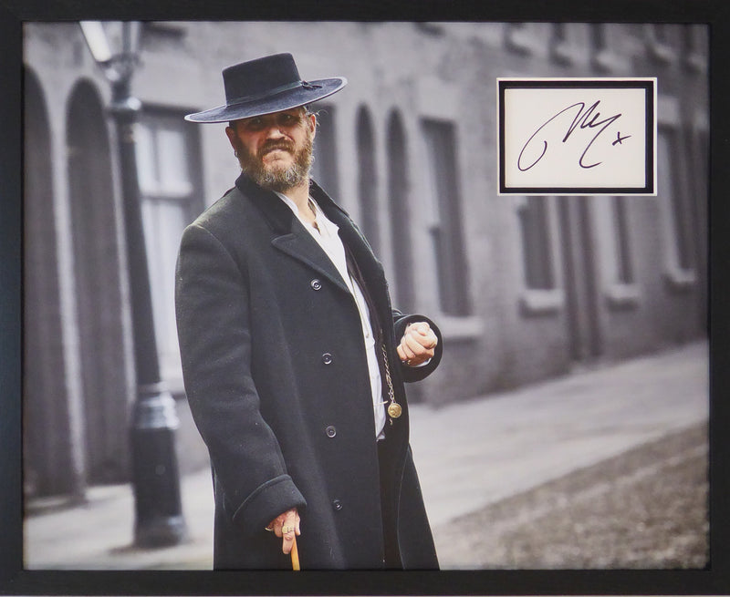 Tom Hardy Signed Peaky Blinders Display