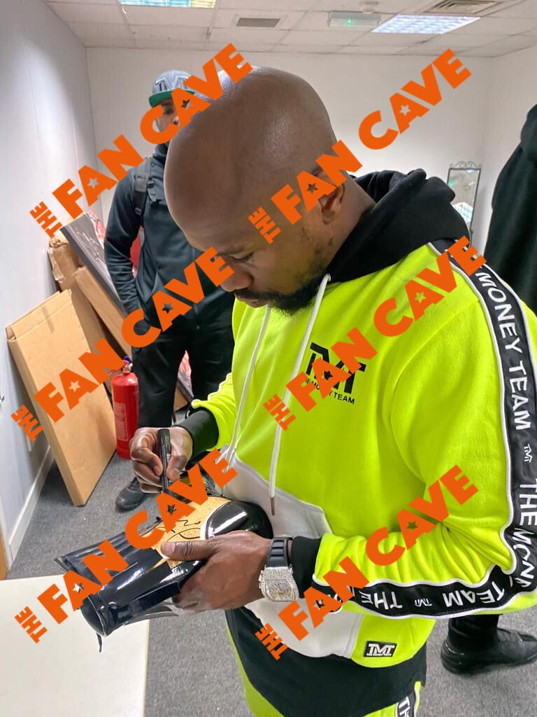 Floyd Mayweather Signed Boxing Boot