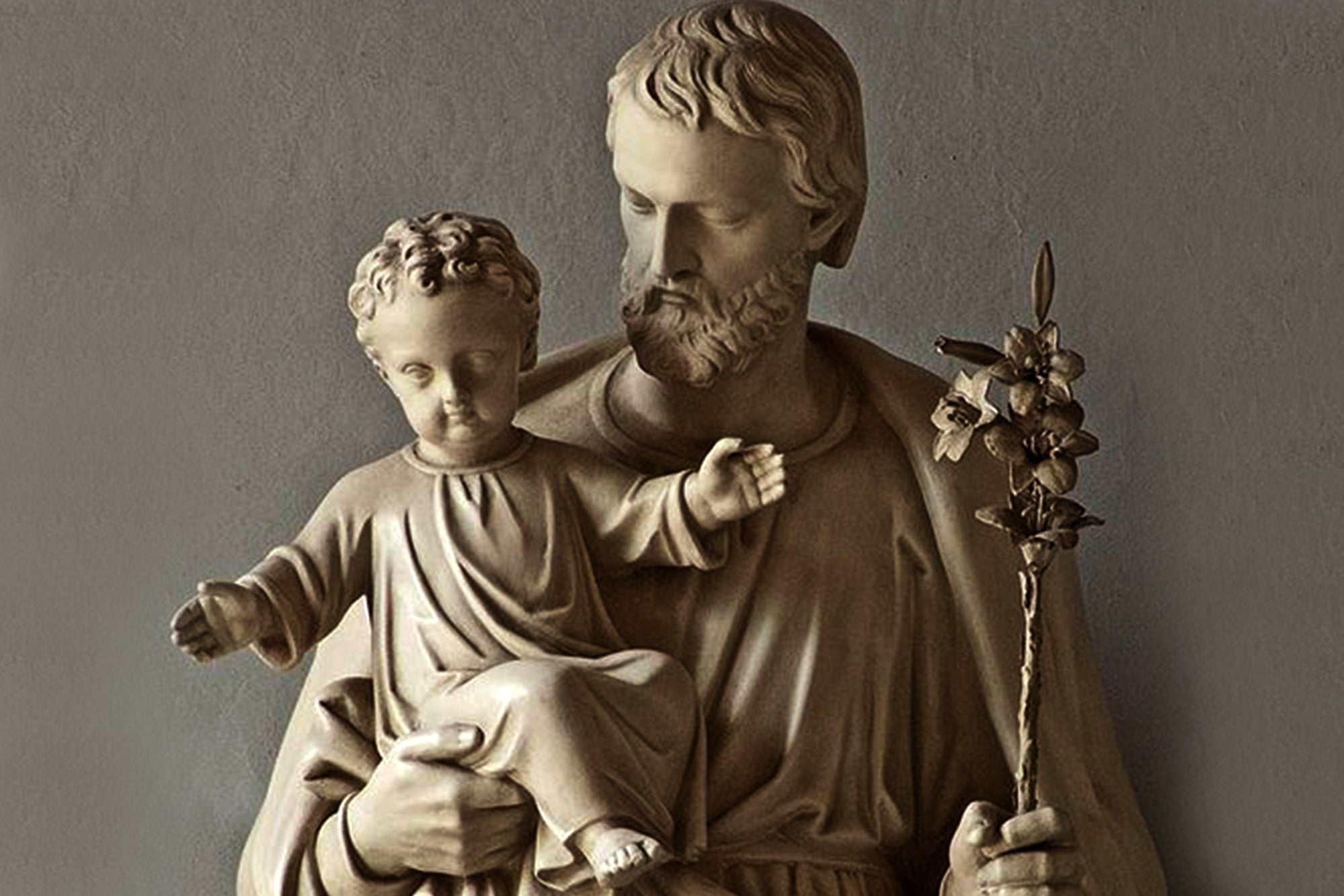 """Entrust to Saint Joseph the holy Church so much fought against, so much slandered."""