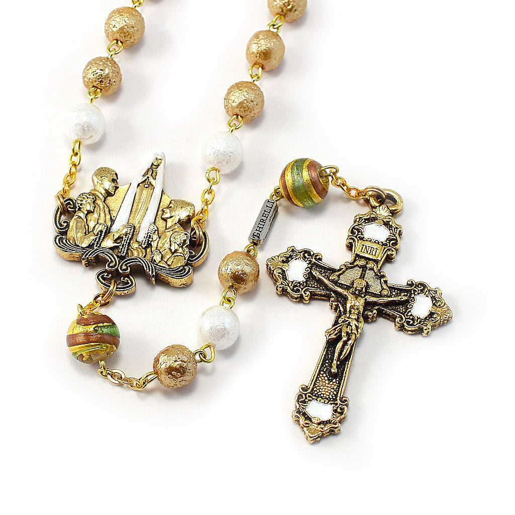 Rosaries for the Family with Bohemian Glass