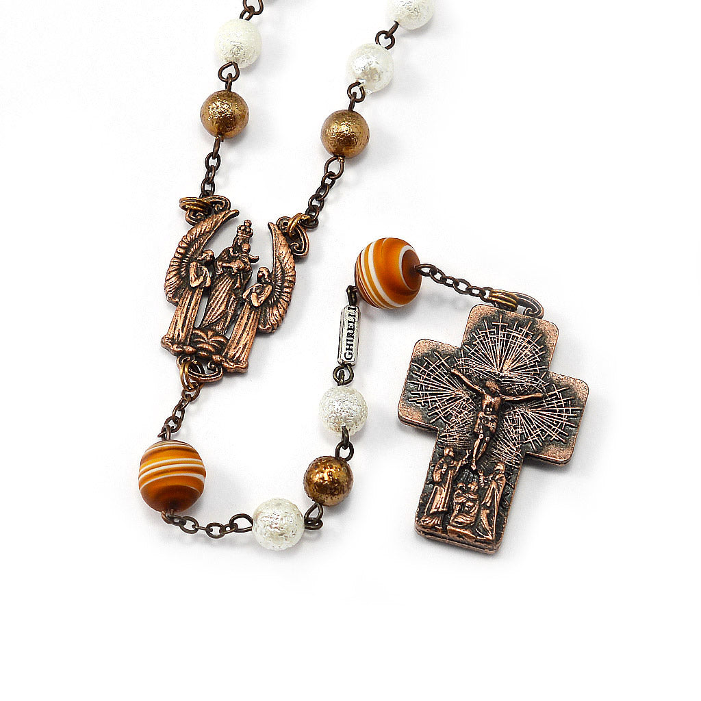 The Holy Mass Rosary with Genuine Murano Glass