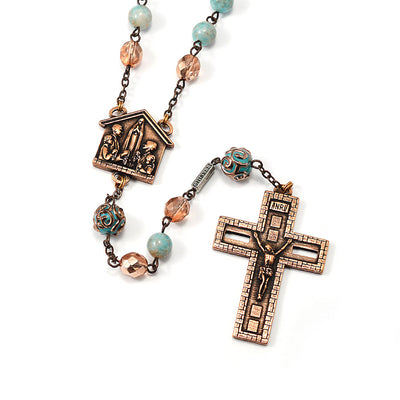 Rosaries for the Family, Lumen Beads & Copper