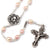 Mary's Motherly Love Collection Blush Pearl Roses Rosary