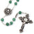 Mary's Motherly Love Collection Aventurine & Silver Rosary