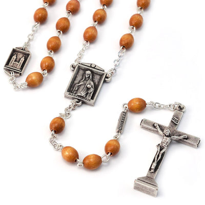 Medjugorje Rosary, Sacred Spaces, Wood