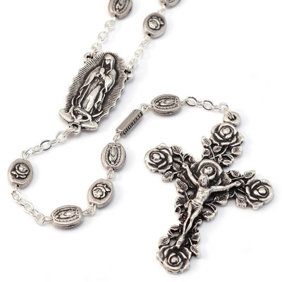 Our Lady of Guadalupe Rosary, Silver
