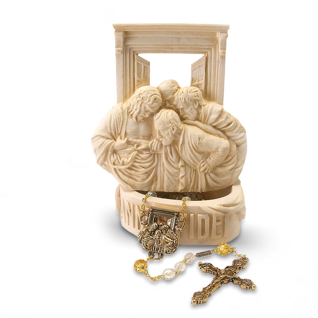 Year of Faith Rosary Keepsake