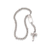 Magnificat Rosalet® - Round Sterling Silver & Pave Pater Beads, Traditional