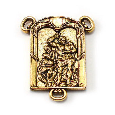 The Sistine Chapel Rosary in Gold