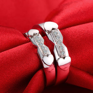 18ct Gold Diamond Couple Set Rings af8ca45777