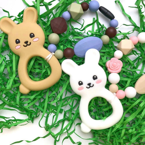 Seasonal #multitasking Teething Toy + Pendant