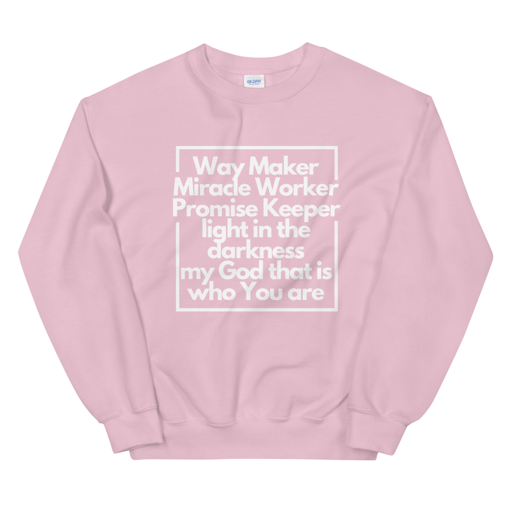 Way Maker Miracle Worker Crew Neck – Milk and Hunny Co