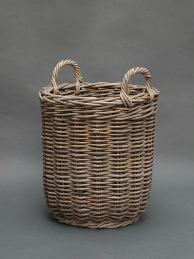 Round baskets with ear handles HCP786